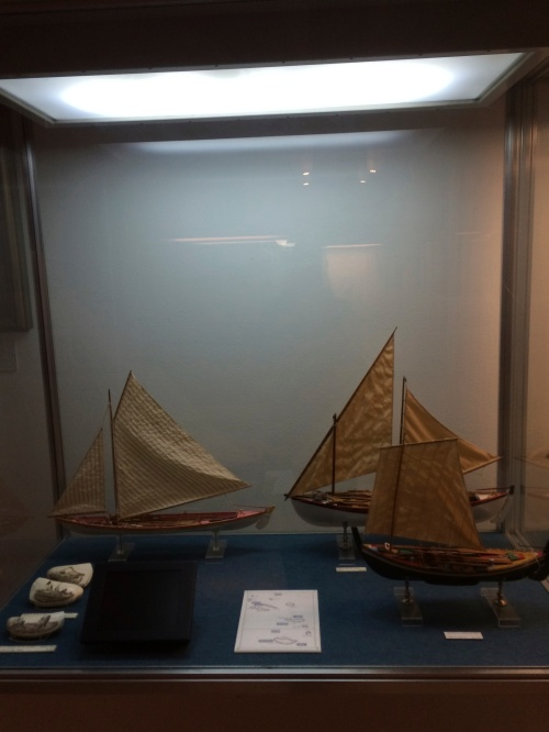 Models of Azorean fishing boats! Just like the ones my family's ancestors would use :) The naval museum by far was my most Favorite Activity.