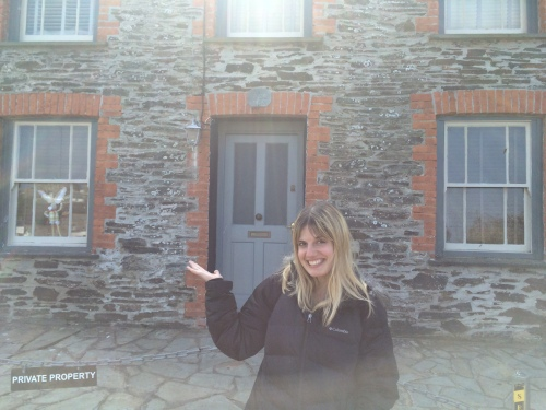 I even got to stand outside Doc Martin's house, he of the famed English television show so beloved by my mother.