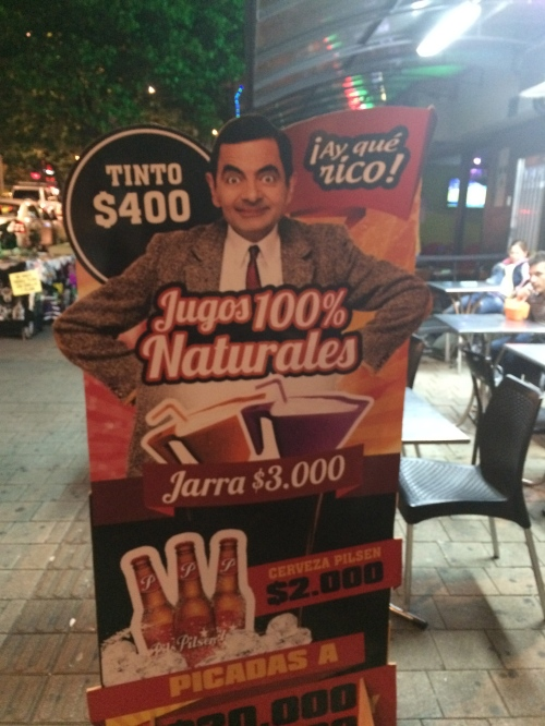 These Mr. Bean advertisements were definitely new for me though. AY QUE RICO indeed.