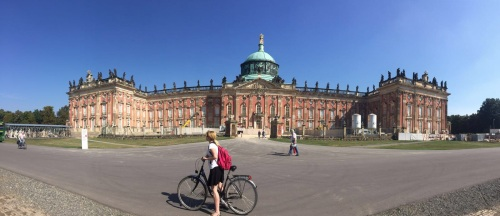I also got to spend a few days in Berlin + Potsdam, which involved lots of cycling and currywurst.